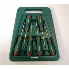 6pc screwdriver set t10-t30 hans tools