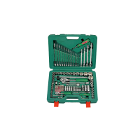 "1/4"",1/2"" industrial tool kit 124pcs"