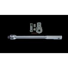 Flexible handle 1/4 hans tools l150mm
